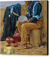 The Pottery Maker Canvas Print