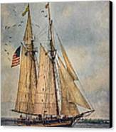 The Pride Of Baltimore II Canvas Print