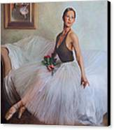 The Prima Ballerina Canvas Print