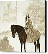 The Princess Has A Day Out. Canvas Print