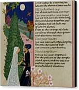 The Prophet - Kahlil Gibran  Canvas Print by Dave Wood