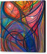 The Pulse Of The Heart Lies Strong Canvas Print by Daina White