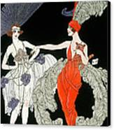 The Purchase  Canvas Print by Georges Barbier