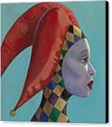 The Queen Canvas Print by Leonard Filgate