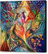 The Queen Lillie Canvas Print