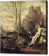 The Rape Of Europa Canvas Print by Gustave Moreau