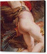 The Rape Of Ganymede Canvas Print