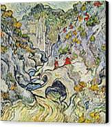 The Ravine Of The Peyroulets Canvas Print