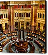 The Reading Room Canvas Print by Greg Fortier