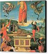 The Resurrrection Of Christ Canvas Print by Raphael