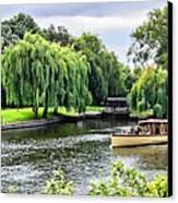 The River Cruise Canvas Print by Trevor Wintle