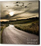 The Road Canvas Print by Boon Mee