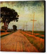 The Road Home Canvas Print by Julie Hamilton