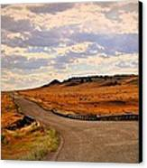 The Road Less Traveled Canvas Print by Marty Koch