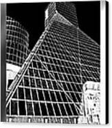 The Rock Hall Cleveland Canvas Print by Kenneth Krolikowski