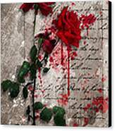 The Rose Of Sharon Canvas Print by Gary Bodnar