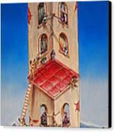 The Santana Building Canvas Print by Dayna Reed