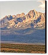 The Sawtooths' Canvas Print by Robert Bales