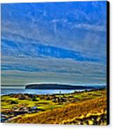 The Scenic Chambers Bay Golf Course II - Location Of The 2015 U.s. Open Tournament Canvas Print