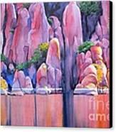 The Secret Cove Canvas Print by Robert Hooper