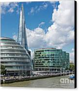 The Shard London Canvas Print by Donald Davis