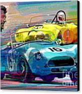 The Shelby Legacy Canvas Print by David Lloyd Glover
