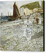 The Shingle Beach Canvas Print by James Kay