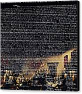 The Signing Of The United States Declaration Of Independence V2 Canvas Print