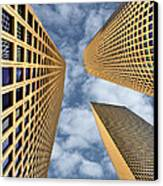 The Sky Is The Limit Canvas Print by Ron Shoshani