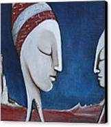 The Sleepers  Canvas Print by Simona  Mereu