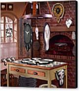 The Soft Clock Shop 3 Canvas Print