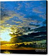 The Sound Of Sky Canvas Print by Q's House of Art ArtandFinePhotography
