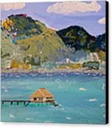 The South Seas Canvas Print by Phyllis Kaltenbach