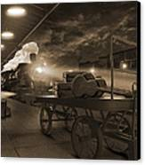 The Station 2 Canvas Print by Mike McGlothlen