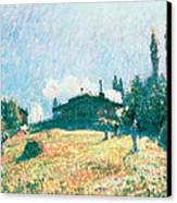 The Station At Sevres Canvas Print