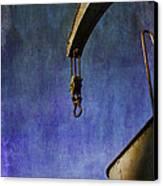 The Steam Crane Canvas Print