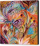 The Stream Of Life Part II Canvas Print