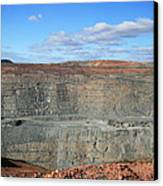 The Super Pit Canvas Print by Carl Koenig