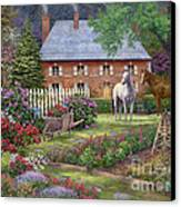 The Sweet Garden Canvas Print by Chuck Pinson