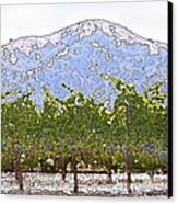 The Taste Of Wine Canvas Print by Artist and Photographer Laura Wrede