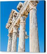 The Temple Of Apollo Canvas Print by Luis Alvarenga