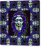 The Three Medusas 20130131 - Horizontal Canvas Print by Wingsdomain Art and Photography