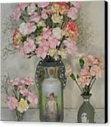 The Three Vases Canvas Print by Good Taste Art