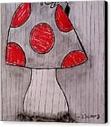 The Tomboy Princess Canvas Print by Denisse Del Mar Guevara