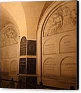 The Tombs At Les Invalides - Paris France - 011335 Canvas Print