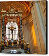 The Tombs At Les Invalides - Paris France - 01136 Canvas Print