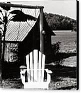 The Transporter Chair Canvas Print by   Joe Beasley