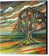 The Tree Canvas Print by Kendra Sorum