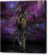 The Tree Of Sawols Canvas Print by John Edwards