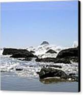 The Untamed Sea Canvas Print